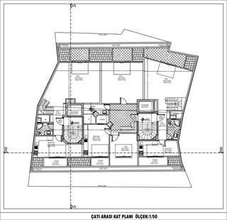Çatı Kat Arası Planı